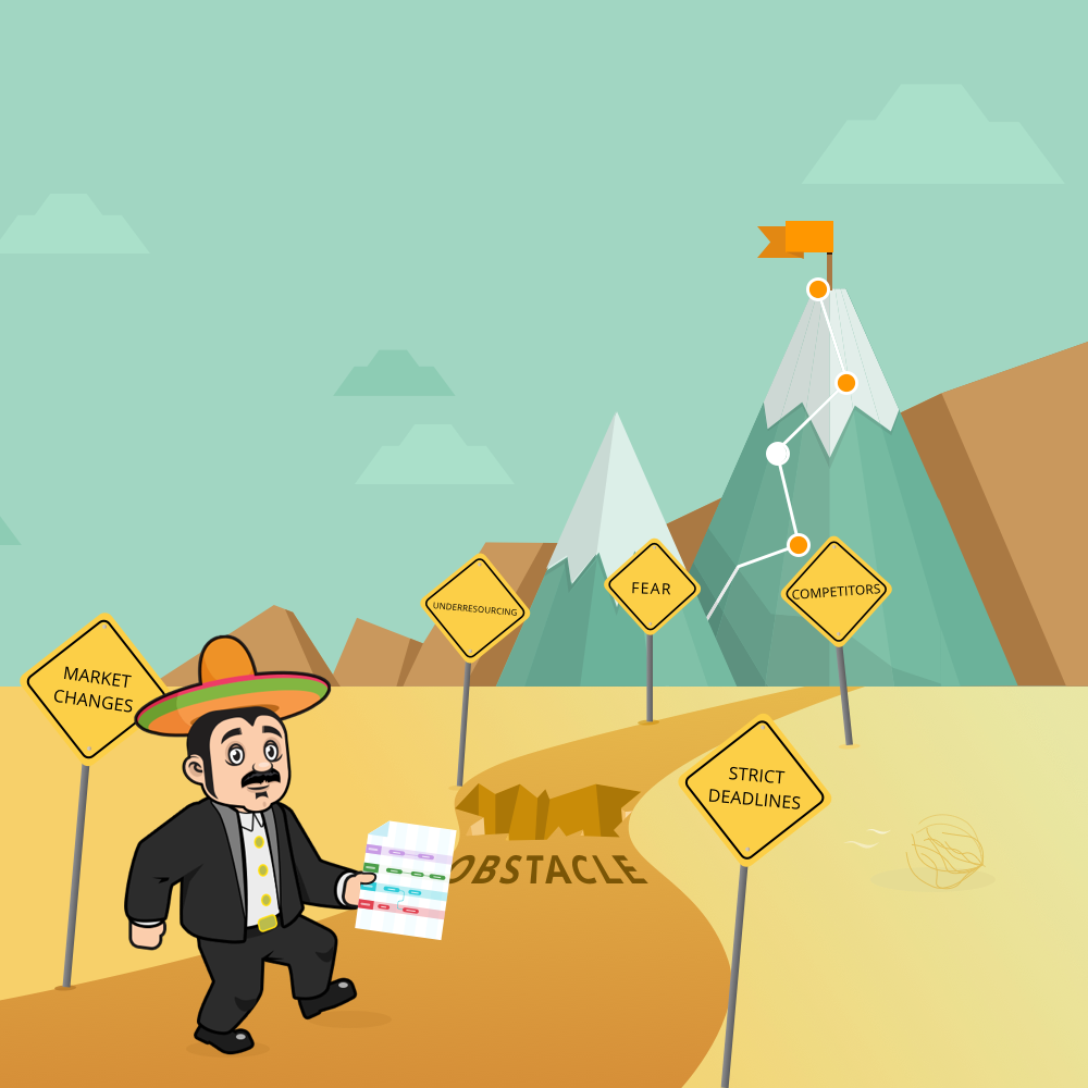 Download Roadmap Planner to reach goals and overcome obstacles