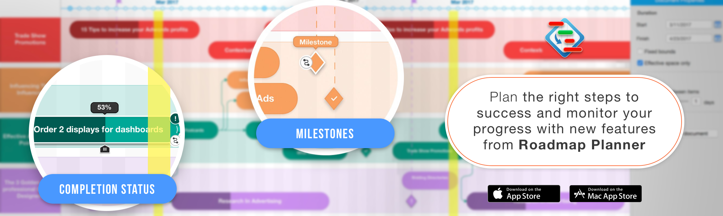 Plan the Right Steps to Success with New Features from Roadmap Planner
