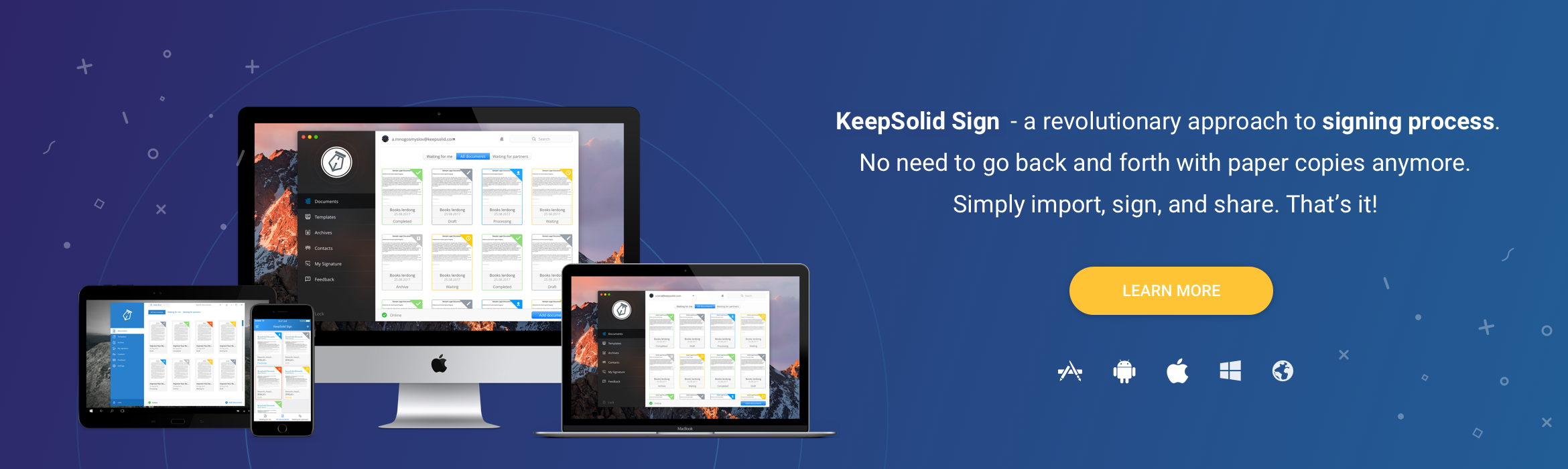 Rolling Out the Big Guns - KeepSolid Sign Official Release!