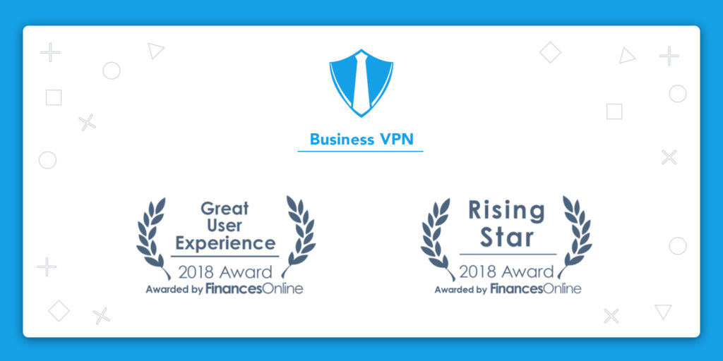 Business VPN by KeepSolid Receives Two Awards from FinancesOnline
