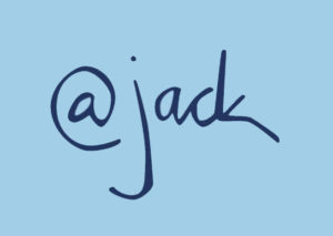 An example of Jack Dorsey's electronic signature.