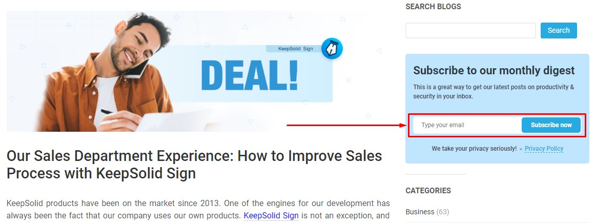 Our Sales Department Experience: How to Improve Sales Process with KeepSolid Sign
