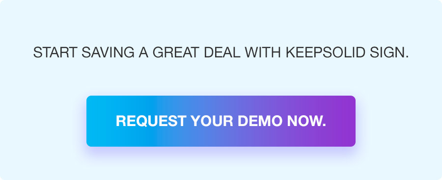 Use e-signature templates and save your time with KeepSolid Sign