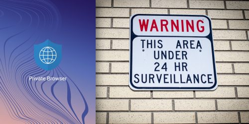 Big Brother Is Watching. Warning sign for would be intruders and those who desire privacy