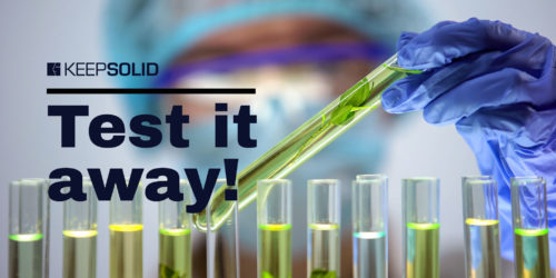 Biologist checking plant samples in test tubes, pesticides influence agriculture, testing products