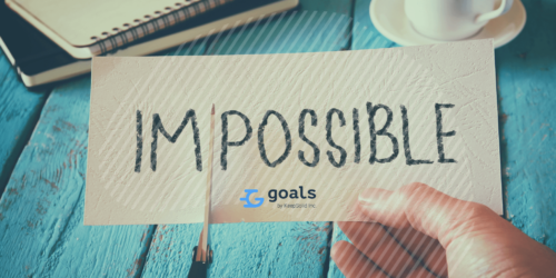 Goal setting tip: Make your goals challenging yet possible to achieve