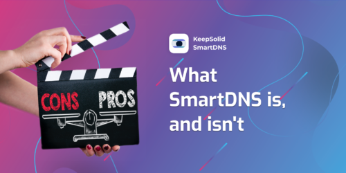 Watching movie about SmartDNS pros and cons