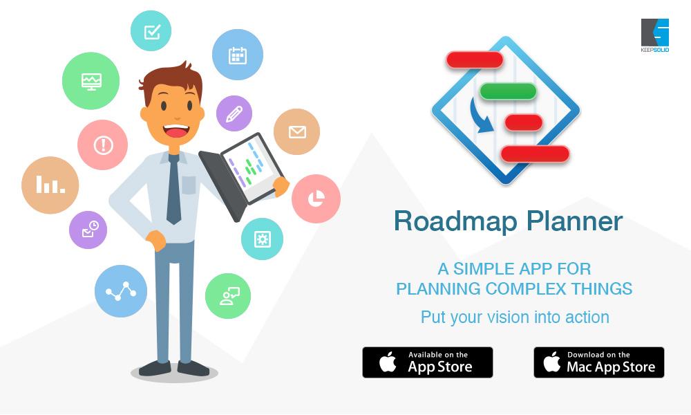 KEEPSOLID Press Room Media Kit Roadmap Planner - Roadmap planner